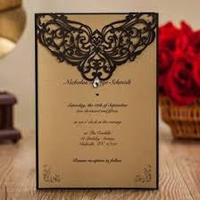 Rustic Invitations Wishmade 50x Vintage Printable Laser Cut Wedding Invitations Cards