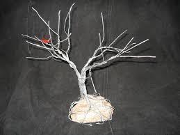 wire tree sculpture 9 steps