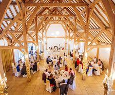 Wedding Venues In Hampshire Barns Set Up For A Wedding Ceremony At Rivervale Barn Wedding Venue In