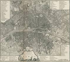 Map Of Paris France Old Map Of Paris 1800