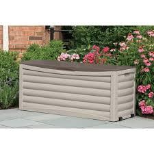 suncast patio storage box 103 gallon ebay