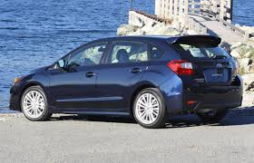small subaru hatchback first drive 2015 subaru impreza driving