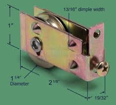 replacing sliding glass door rollers 81 077 sliding patio door roller 1 1 4