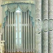 luxury drapery interior design fashion pattern luxury drapes chinese door curtain