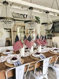 farmhouse fourth of july in the dining room liz marie blog