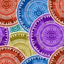 kimono repeat pattern asian motif seamless kimono pattern royalty free vector clip art