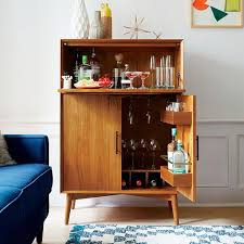 west elm mid century bar cabinet large mid century bar cabinet large modern living rooms pinterest