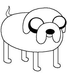 adventure jack dog coloring pages coloring sky