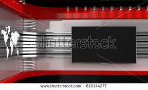 tv studio backdrop tv shows on stock illustration 610144277