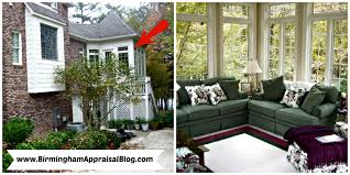 can a sunroom be included in the gross living area of a home