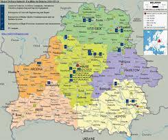 russia map belarus minsk russia map