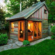How To Build A Small Storage Shed by 8 Sheds Turned Into Awesome Mancaves