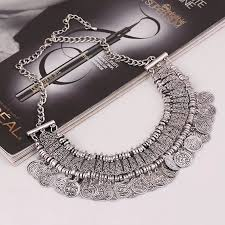 chunky crystal necklace jewelry images New charming pendant chain crystal choker chunky statement bib jpg