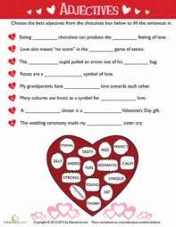valentine u0027s day grammar 10 printables education com