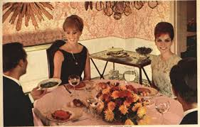 """From Refresh Your Table Manners"", by Luella Cuming, 1964 Family Circle. kitschy-kitschy-coo.com"