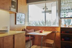 table in the kitchen popular midcentury modern homes are fetching top dollar wsj