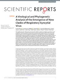 a virological and phylogenetic analysis of the emergence of new