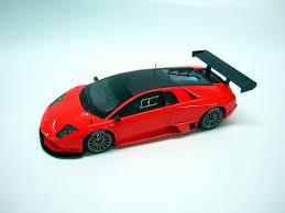 Lamborghini Murcielago Red - looksmart lamborghini murcielago r sv orange fluo ls379b in 1