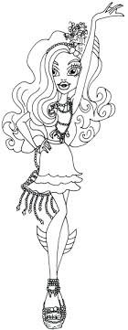 monster high coloring pages frights camera action frights camera action coloring pages