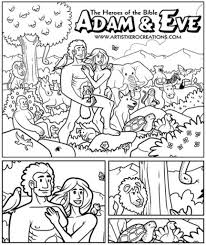 free bible coloring pages of adam and eve az coloring pages