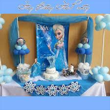 frozen inspired banner frozen garland frozen party decoration