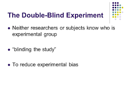 Double Blind Research Experimental Research Neuman And Robson Ch 9 Introduction