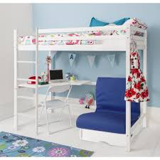 Futon Pull Out Guest Bed In Blue Noa  Nani - Navy bunk beds