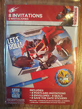 transformers birthday child greeting cards ebay