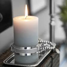 light grey pillar candles graceful gray pinterest