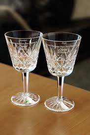 wine glasses waterford lismore claret red wine glass