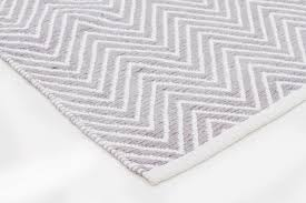 chevron hide rug chevron grey and white rug roselawnlutheran