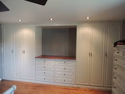 Wall Unit Bedroom Sets Sale Custom White Wall Unit In A Master Bedroom Wall Units