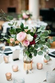 wedding centerpieces for round tables beautiful bridal eucalyptus wedding decorations