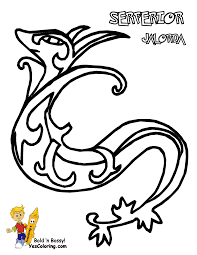 coloring pages lovely snivy coloring pages pokemon snivy