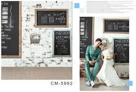 wedding backdrop board aliexpress buy black board white brick wall photo backdrop