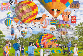 balloon bonanza gibsons jigsaw puzzles balloon bonanza jigsaw puzzle at the