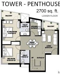 dlf new town heights floor plan 2 floor plan jpg