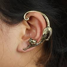 earring cuffs online shop ear cuffs hook clip on earrings fashion
