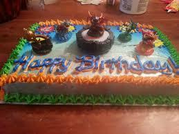 my son u0027s skylander birthday cake that me u0026 my sister made today
