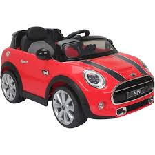 kids electric jeep licensed mini cooper s 12v child u0027s ride on car red outdoor toys