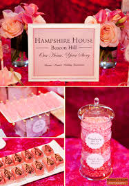 House Decoration For Engagement by Boston Event Photography Hampshire House Engagement Celebration