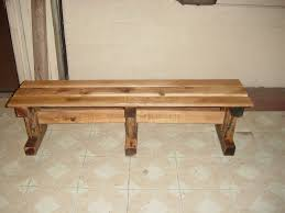 Furniture Recycling by Bench Country Bench Callaway Three Drawer Country Bench Oak