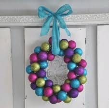 dollar store ornament wreath favecrafts