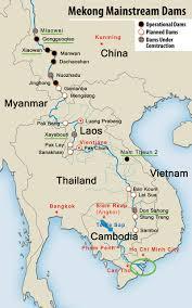 Kunming China Map by Portfolio The Mekong Requiem For A River Franck Vogel