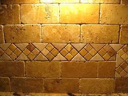 travertine backsplash tiles tile stone a gold subway tile with
