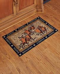 hearts and kitchen collection autumn fall hearts berries country kitchen floor mat rug