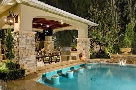 Backyard Cabana Ideas Swimming Pool Cabana Designs Endearing Pool Bar Mirage Landscape