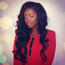 long wavy sew in hairstyles wavy weave hairstyles with side part