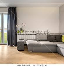 bright living room sofa armchair big stock photo 562466194
