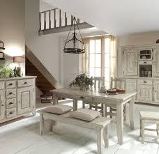 chambre ceruse table de repas 160 cm avec ses 2 allonges de 50 cm en pin massif